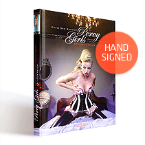 PERVY GIRLS - hand-signed